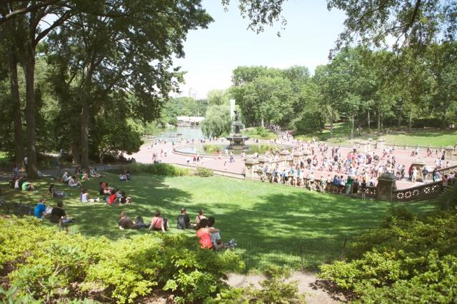 central-park-on-sunday