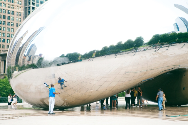 Chicago-Millenium-Park-The-Bean-12