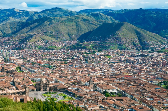 View-of-Cuzco-from-Saqsayhuaman
