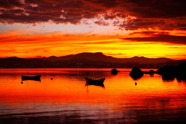 Brutal-Sunset-in-Florianópolis