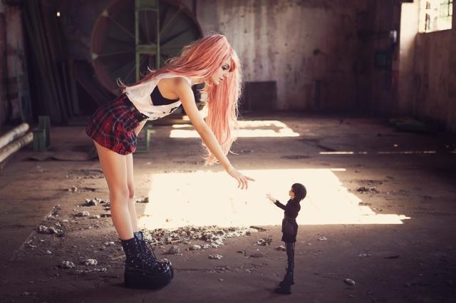 Débora Fuzeti living doll (3)